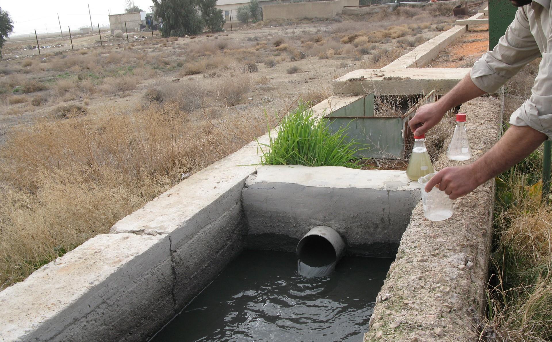 Wasseraufbereitung in Syrien